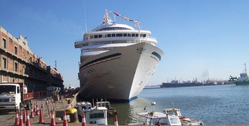 Peligra la llegada de cruceros internacionales al puerto de Buenos Aires