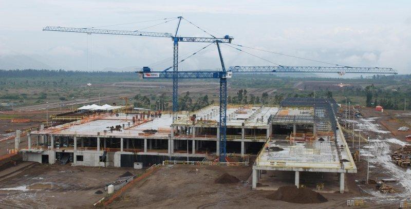 La construcción comenzó en 2006