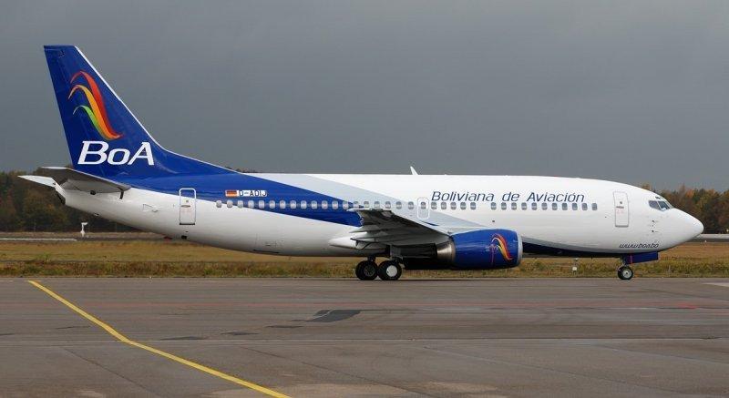 Cerca de 400 pasajeros de Aerosur serán beneficiados con vuelos de BOA