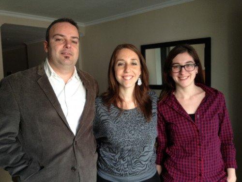 Javier Lyonnet, Sabrina Wagner y Taiana González, las tres caras de Hosteltur Uruguay.