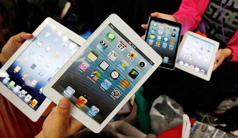 Apple vende tres millones de iPad mini y iPad 4 en tres días.