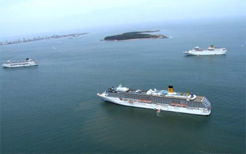 Casi el 80% de los pasajeros de cruceros son de Brasil y Argentina
