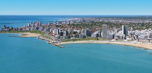 Mar del Plata, principal destino turístico de la Costa Atlántica bonaerense.