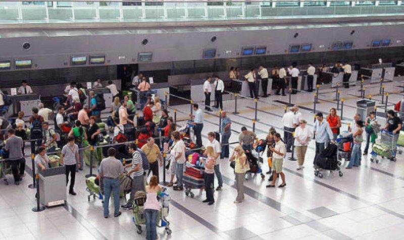 Aeropuerto Internacional de Ezeiza, Argentina.