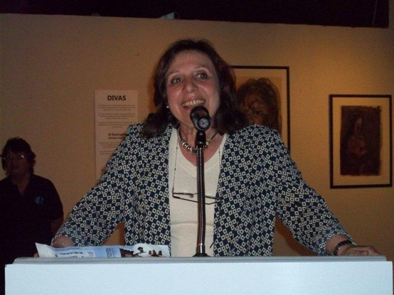 Intendenta Ana Olivera en inauguración de FIT