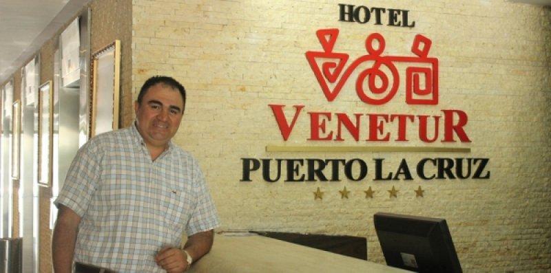 Flanklin Araque Roa lleva 20 años trabajando en turismo y hoteles.
