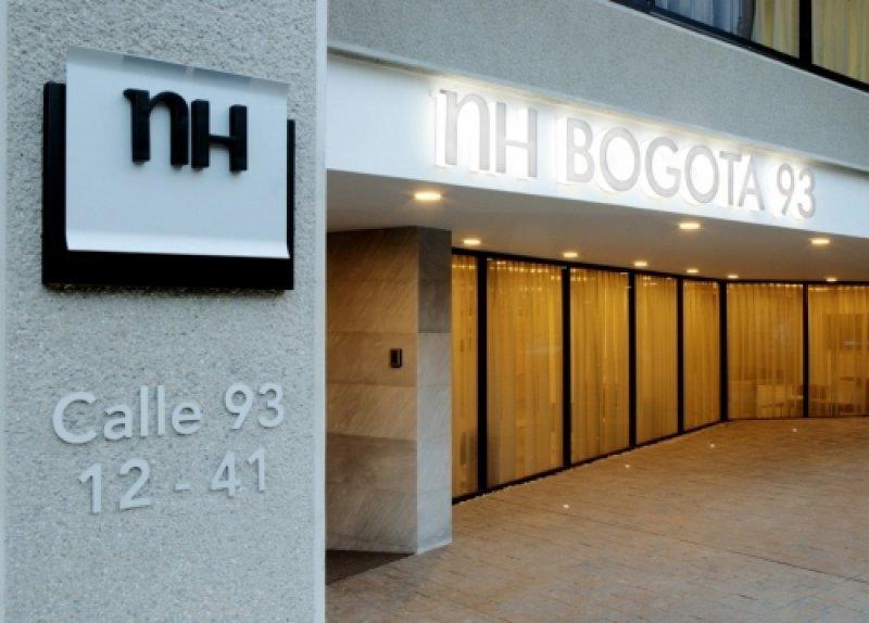 NH Hoteles cuenta con 221 hoteles en el extranjero. En la imagen: NH Bogotá 93, en Colombia.