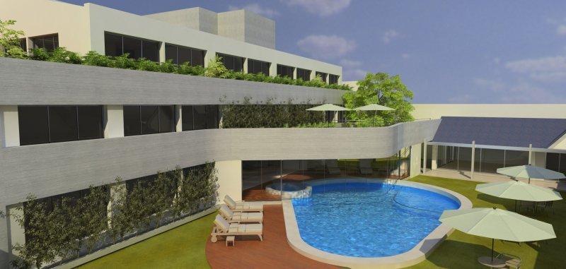 Howard Johnson Hotel Yerba Buena, proyecto que inaugurará en Tucumán bajo el protocolo de sustentabilidad.
