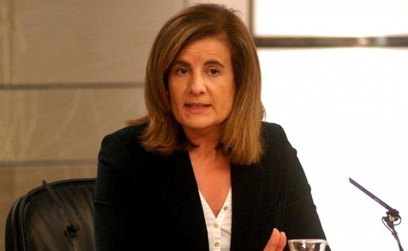 Fátima Báñez, ministra de empleo y seguridad social de España