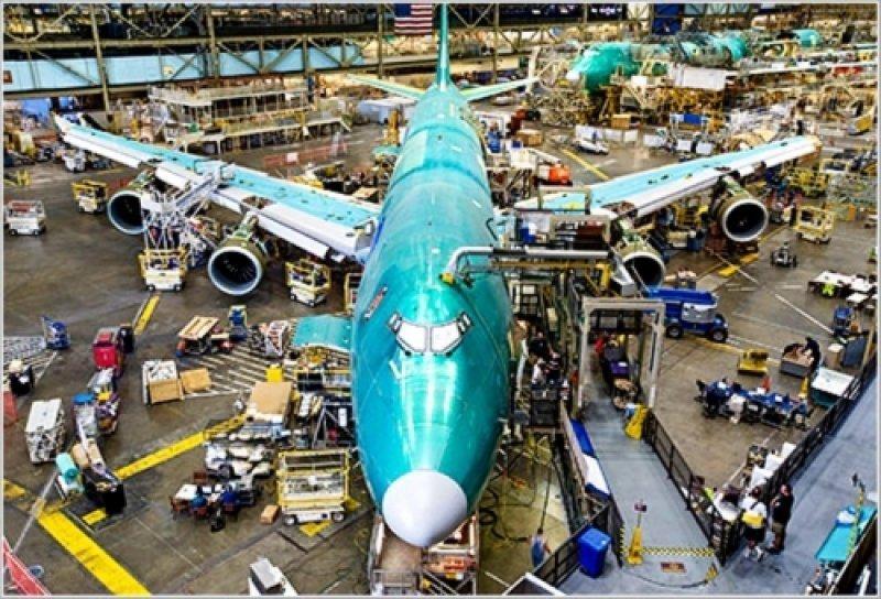 Boeing aventaja a Airbus con 60% mas pedidos hasta octubre