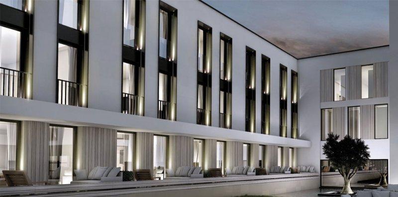 El hotel tendrá 30 habitaciones y empleará energías alternativas