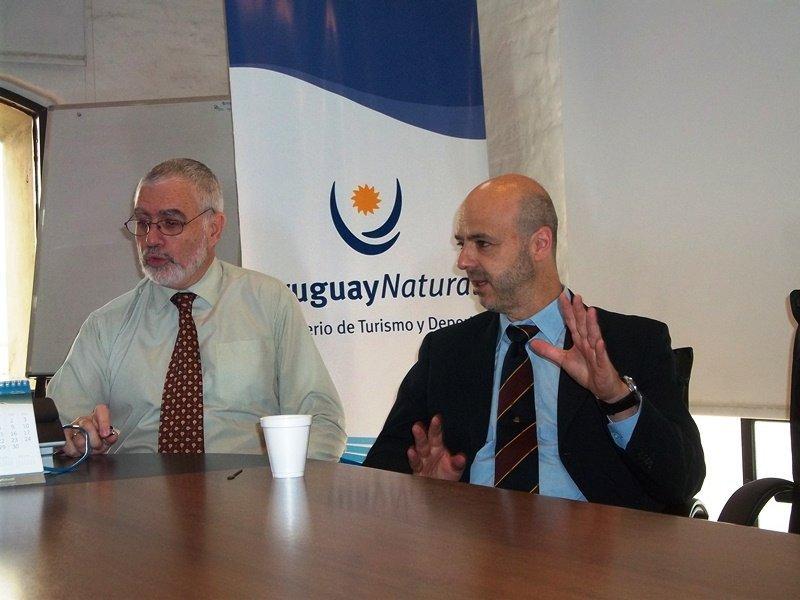 Benjamín Liberoff y Antonio Carámbula presentan la campaña