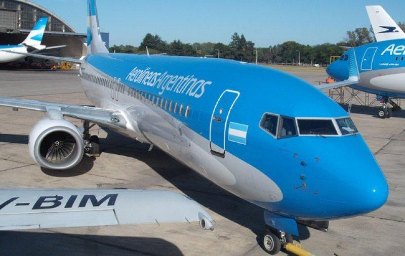 Aerolíneas Argentinas y Austral, al tope en el ranking de puntualidad.