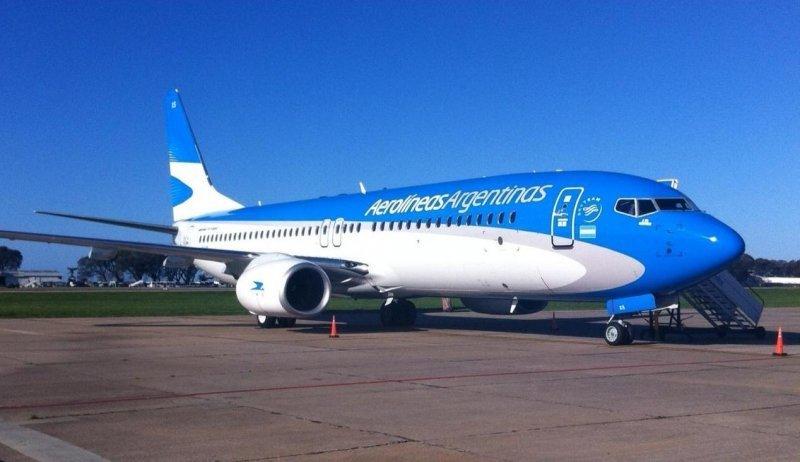 """Aerolíneas Argentina presentará """"ambicioso programa"""" en España."""
