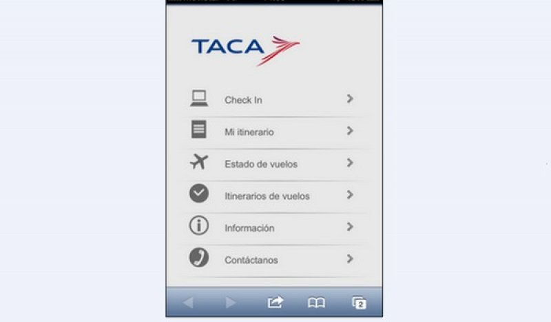 Disponible para iPhone, Blackberry y Android.