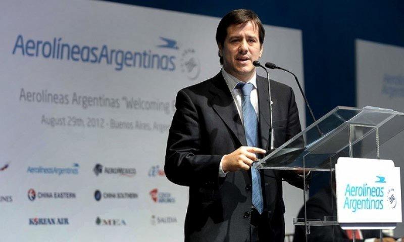 Mariano Recalde, presidente de Aerolíneas Argentinas.