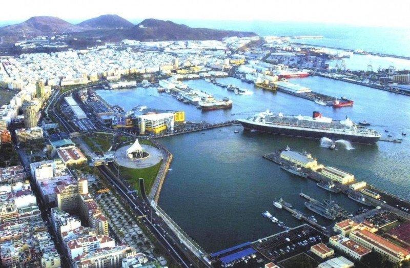 Los puertos canarios presentan uan excelente evolución como el de Las Palmas, cuyo tráfico registró un crecimiento del 18,8%.