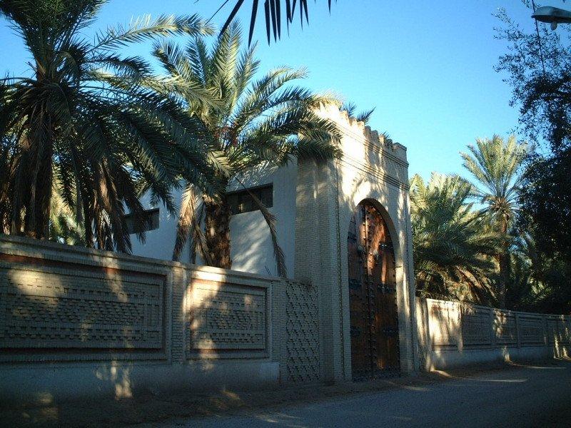 Tozeur, entrada a Eden Palm.