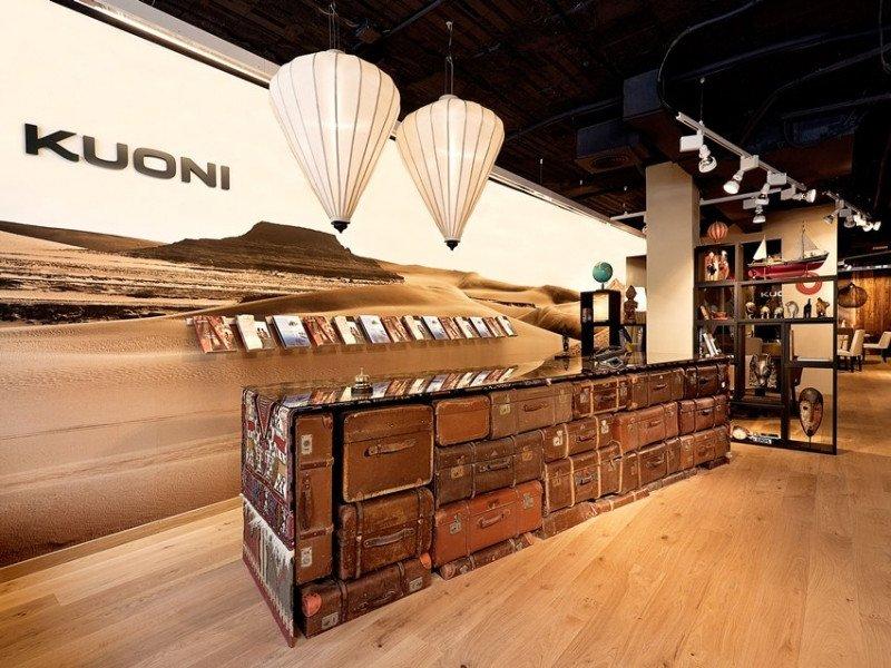 Tienda de Kuoni en Madrid.