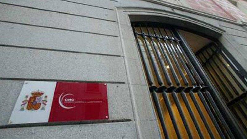 Sede de la CNC, en Madrid.