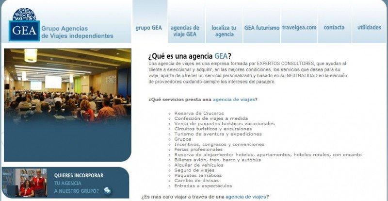 Web de GEA.