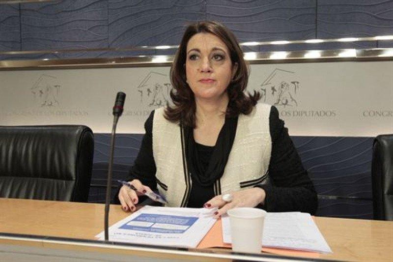 La portavoz del Grupo Socialista en el Congreso, Soraya Rodríguez.