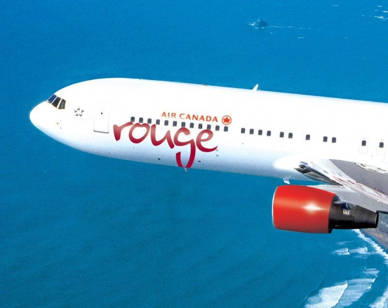 Air Canada rouge: la low cost de Air Canada para rutas de ocio y las no rentables