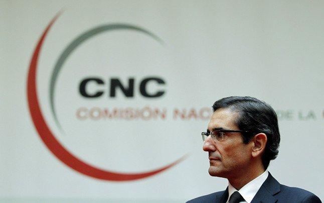 El presidente de la Comisión Nacional de la Competencia, Joaquín García Bernaldo de Quirós.