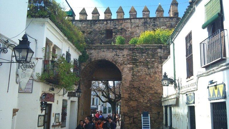 Entrada al centro histórico de Córdoba.