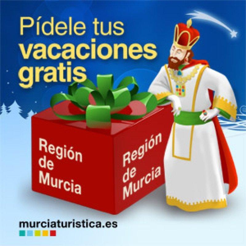 Turismo de Murcia regala unas vacaciones a medida