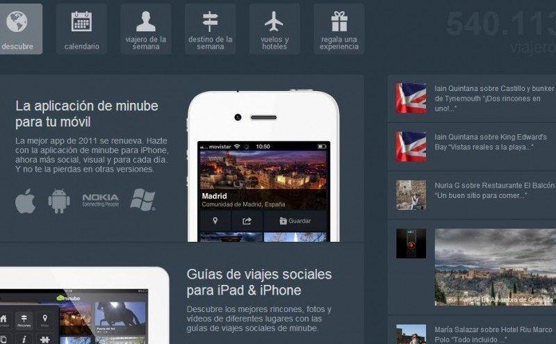 La app de Minube, la mejor según Skyscanner.
