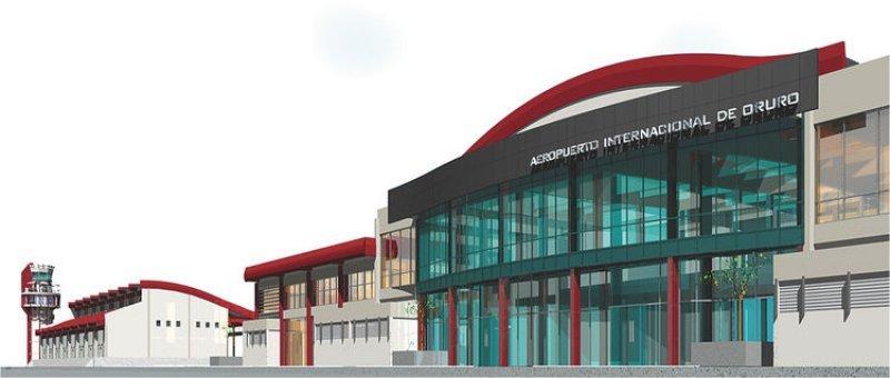 El Juan Mendoza será el cuarto aeropuerto internacional de Bolivia.