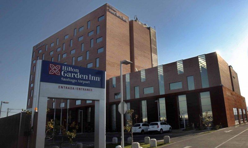 Hilton Garden Inn Santiago, inaugurado el año pasadO.
