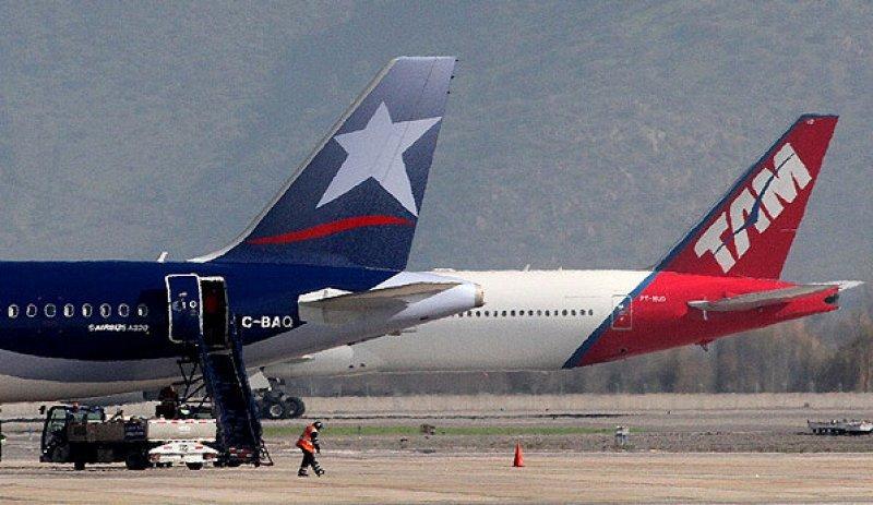 Creció un 10% el tráfico de pasajeros en LATAM Airlines.