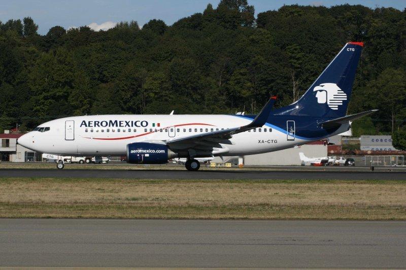 Aeroméxico transportó 13,5 millones de pasajeros en once meses.