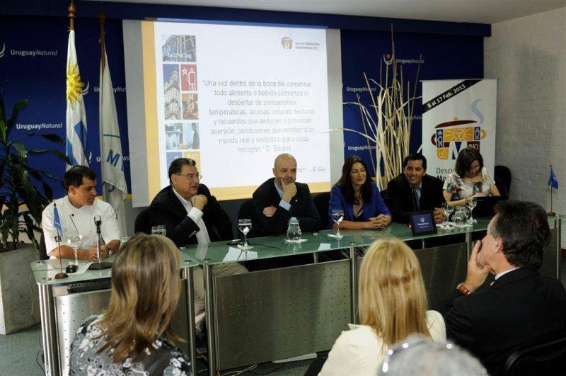 Lanzamiento de Descubrí Montevideo Gastronómico 2013, del 8 al 17 de febrero