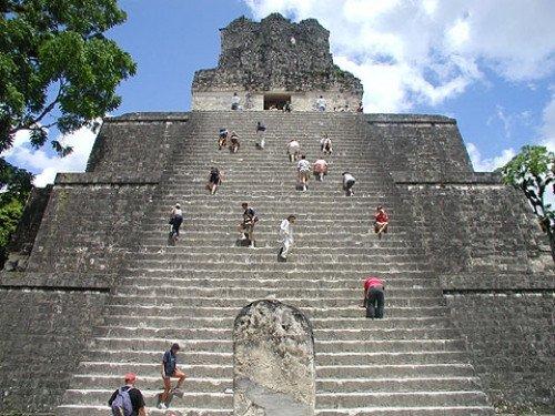 En las ruinas de la ciudad de Tikal se concentrarán las actividades en Guatemala