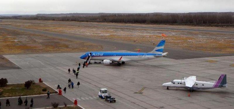 Cierra por refacciones el aeropuerto de Neuquén capital