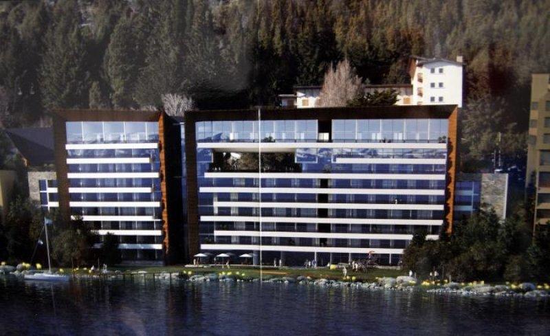 Capitalinas Bariloche se alzará a orillas del Lago Nahuel Huapi.