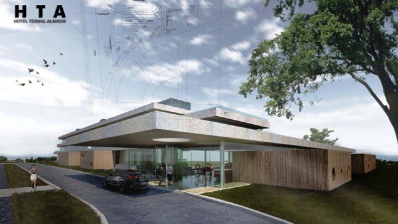 Proyecto del Hotel Termal Alimirón, en el que serán invertidos US$ 3 millones