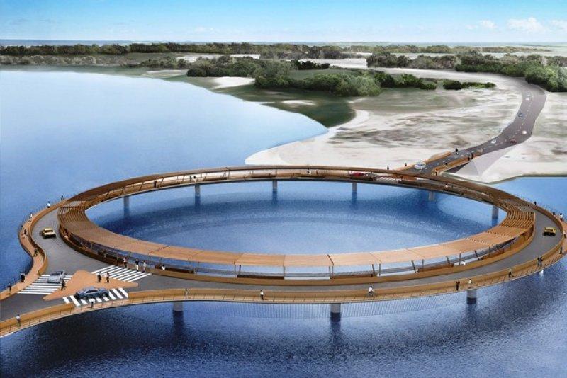 La Dirección de Medio Ambiente y el Ministerio de Transporte aprobaron el nuevo diseño de puente del arquitecto Rafael Viñoly