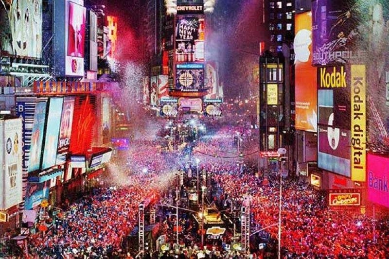 Nueva York, una de las ciudades icono de los festejos de Año Nuevo