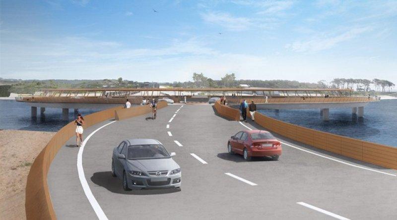 """Dinama habilitará nuevo diseño de puente en Laguna Garzón: """"cumple todos los requisitos"""""""