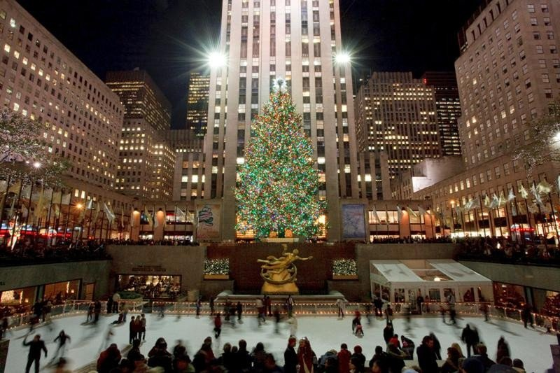 Rockefeller Center, Nueva York.