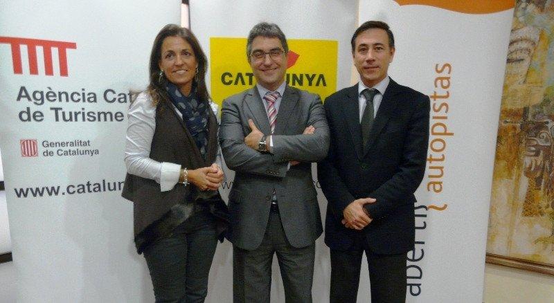 Marián Muro, Josep Lluís Giménez y Xavier Espasa.