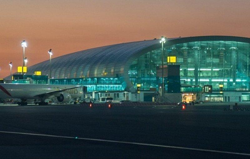 Las nuevas instalaciones Concourse A del aeropuerto internacional de Dubai son las primeras del mundo para el A380