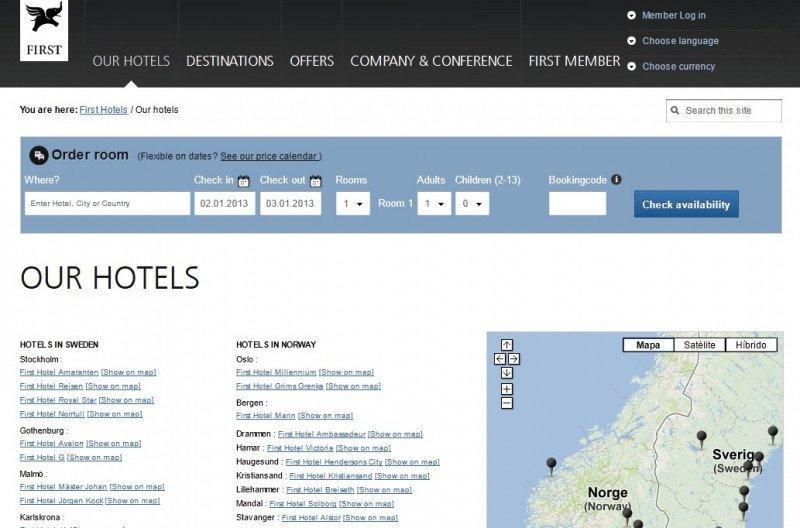 First Hotels fue una de las primeras en decidir no renovar con Expedia.