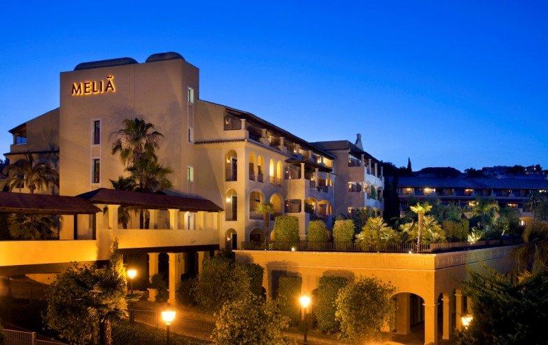 Hotel Meliá La Quinta, en Marbella.