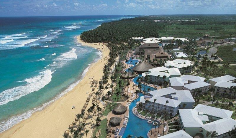 República Dominicana ha logrado el mayor crecimiento del Caribe por segundo año consecutivo. En la imagen, vista aérea de Punta Cana.