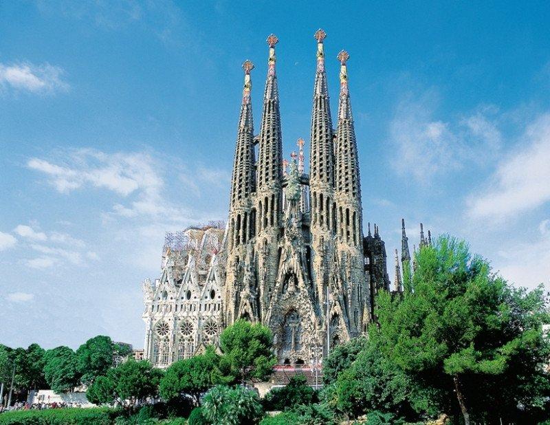 Basílica de la Sagrada Familia, Barcelona.